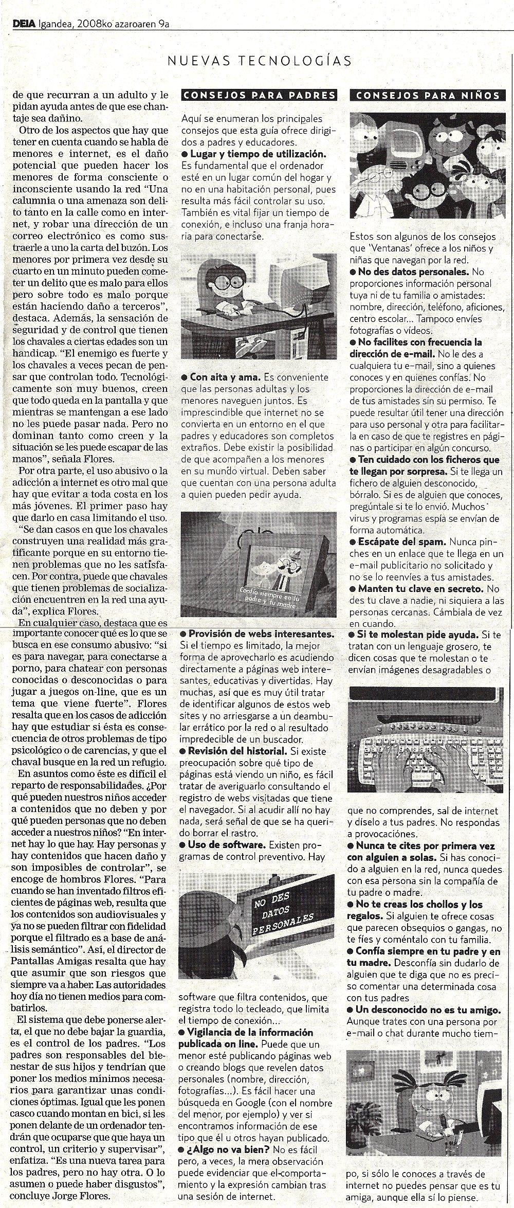 Internet y niños: combatir las sombras en la red (2)