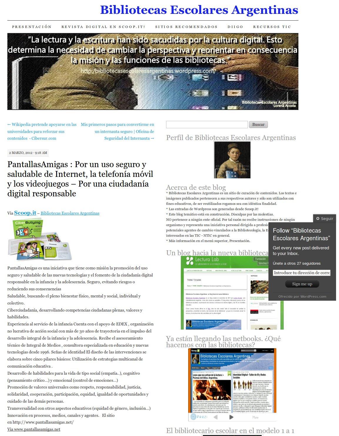 PantallasAmigas : Por un uso seguro y saludable de Internet, la telefonía móvil y los videojuegos – Por una ciudadanía digital responsable